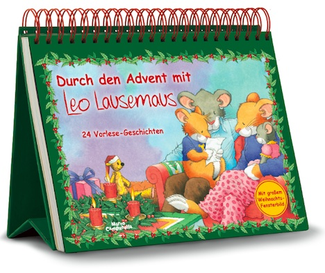 Durch den Advent mit Leo Lausemaus Adventsaufsteller
