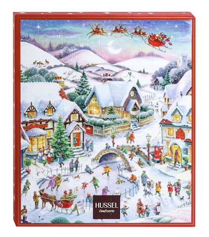 Hussel Adventskalender Winter-Wunder