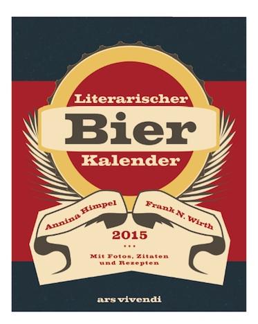 Literarischer Bier Kalender 2015  ars vivendi Verlag Cover