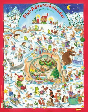 Pixi Adventskalender 2014 Carlsen Verlag