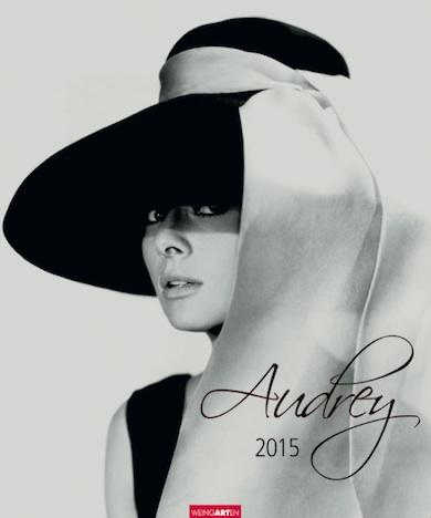 Audrey Hepburn 2015 Kalender KV&H Verlag Cover