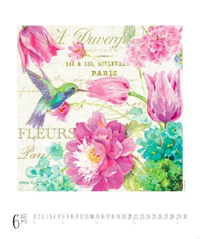 Birds & Butterflies - Kathryn White Kalender Juni 2015