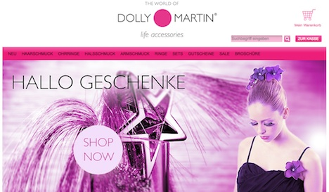 Dolly Martin Homepage
