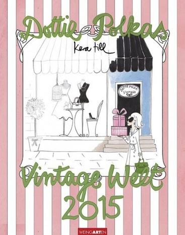 Dottie Polkas Vintage Welt 2015 Kalender Cover