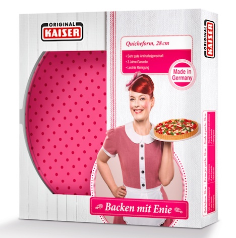 Kaiser Original Enie backt Qicheform verpackt Enie van de Meiklokjes