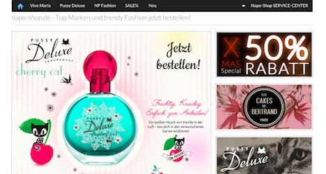 Napo Shop Onlineshop Nastrovje Postdam Pussy Deluxe