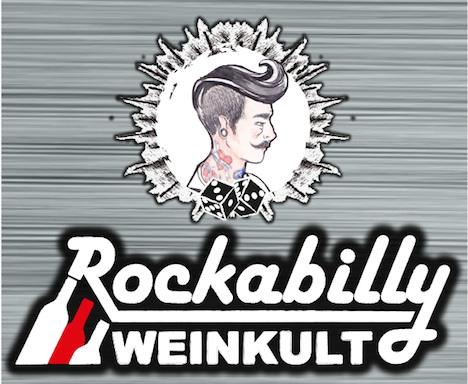 Rockabilly Weinkult Etikett_Logo_Kopf