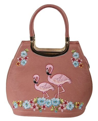 Strawbetty Banned Tasche Handtasche Flamingo 1