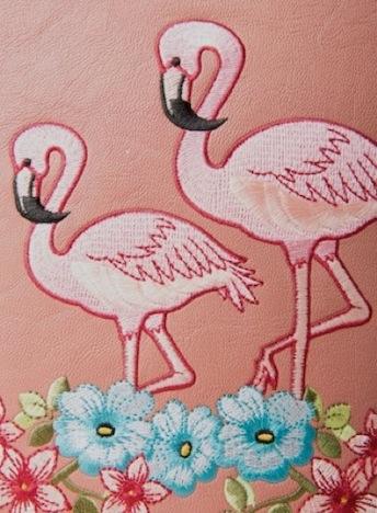 Strawbetty Banned Tasche Handtasche Flamingo 2