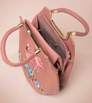 Strawbetty Banned Tasche Handtasche Flamingo 3