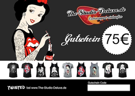 The Studio Deluxe Gutschein Pinup-Fashion-Magazin Adventskalender