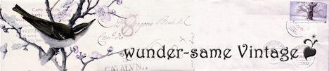 Wunder-Same Vintage Banner Logo