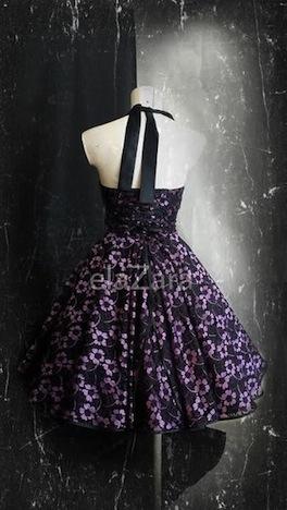 elaZara  Petticoatkleid im Vintage Stil aus Spitze & Satin