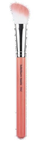 kosmetik4less.de bdellium-bd244-bedellium-tools-kosmetikpinsel-pink-bambu-face-slanted-contour
