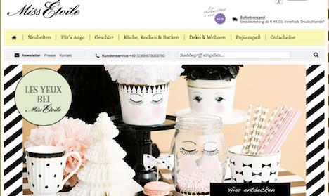 www.missetoile.de Onlineshop