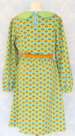 Cherry Picking Miss Betty Sue Schnittmuster + Beispiel Kleid hinten