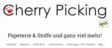 Cherry Picking Onlineshop 1