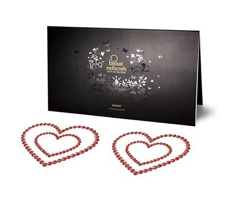 Bijoux Indiscrets mimi-heart-red