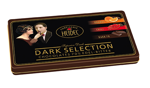 Heidel Confiserie Dark Selection Dose