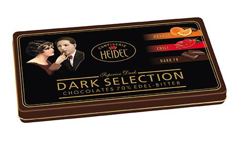 Heidel Confiserie Dark Selection Dose