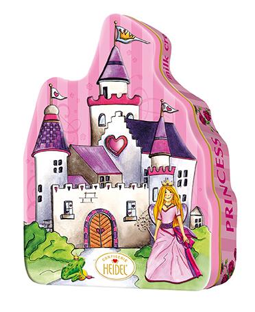 Heidel Confiserie Schlossdose Prinzessin