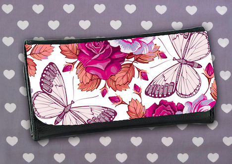 Mirella Geldboerse Schmetterling