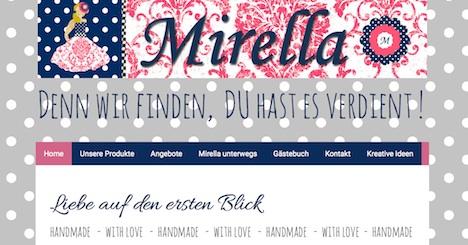 Mirella Onlineshop Shop Webshop