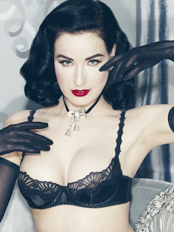 Von Follies by Dita Von Teese star lift black