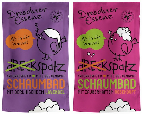 Dresdner Essenz Dreckspatz Schaumbad fuer Kinder
