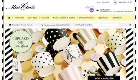 Miss Étoile Onlineshop Webshop 2