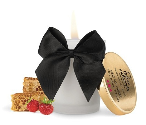 bijoux indiscrets new-wild-strawberry-massage-candle
