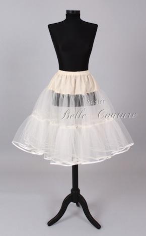 Atelier Belle Couture 2lagiger Petticoat mit 3 Stufen 012