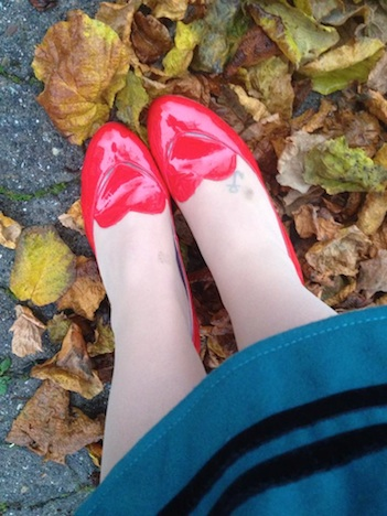 Fraeulein Puenktchen Style of the Week 1 Frollein von Sofa Schuhe