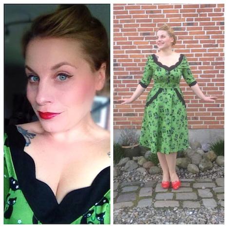 Fraeulein Puenktchen Style of the Week Mein neues Lieblingskleid Voodoo Vixen, traumhafter Schnitt