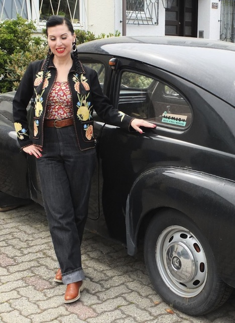 Style of the Week Miss Lilly Ann Lilly mit Buckelvolvo