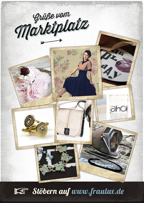 Frau Lux fraulux.de Onlineshop Vintage Retro FL_flyer_dina6_back_vintage
