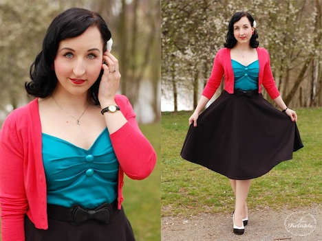 Style of the Week Bloggerin Miss_Twinkle_Outfit_1