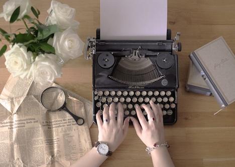 Vintage Schreibmaschine Modell Erika
