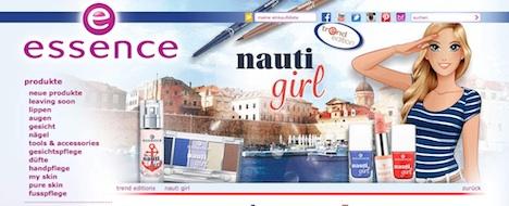 essence Homepage trend edition nauti girl