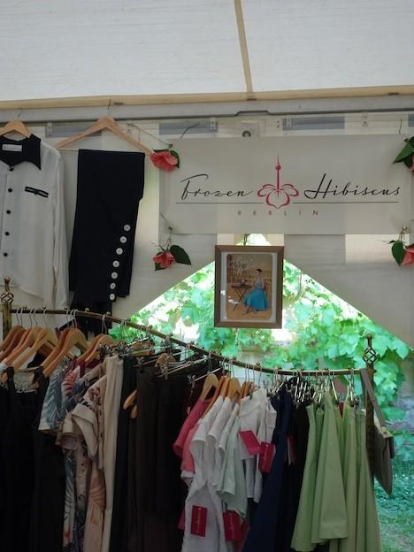 Frozen Hibiscus im Fashionzelt Firebirds Festival Juli 2015 6