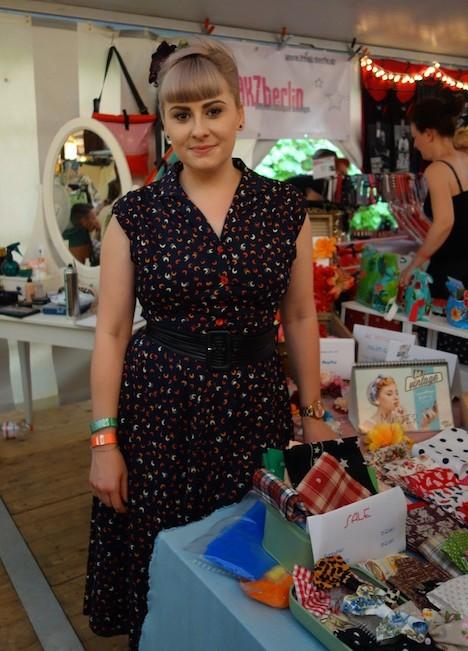Miss Mint im Fashionzelt beim Firebirds Festivals Juli 2015 2