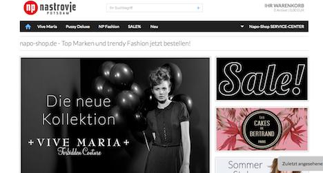 Napo Shop Nastrovje Potsdam Onlineshop Webshop Vive Maria Pussy Deluxe