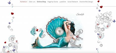 Heartbreaker Homepage Onlineshop Webshop