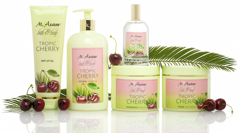M.Asam Tropic Cherry_Set_Deko 02