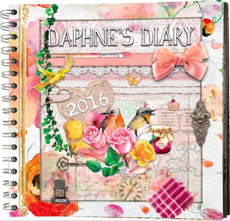 Daphne's Diary Kalender 2016 Frechverlag