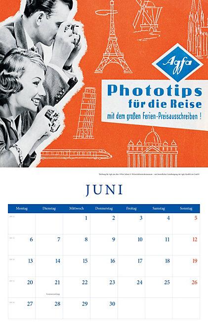 Historische Werbeplakate Kalender 2016 + 2 Blechschilder Weltbild 123_039