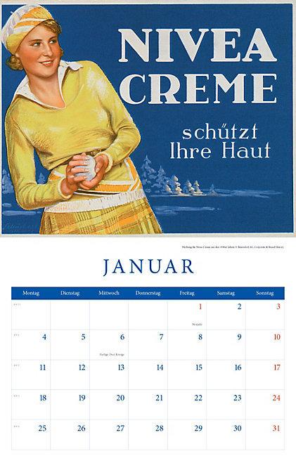 Historische Werbeplakate Kalender 2016 + 2 Blechschilder Weltbild 123_039_1