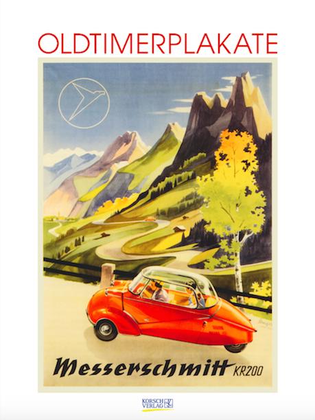 Oldtimer Plakate Kalender 2015 Korsch Verlag Cover