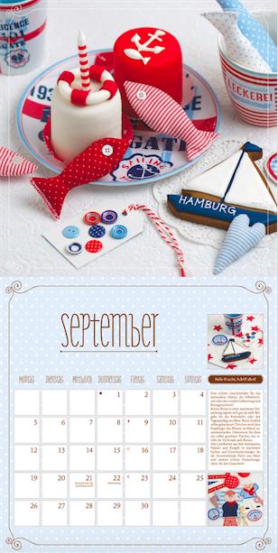 Suesse Koestlichkeiten zum Verschenken 2016 Dumont Kalender 2016 September