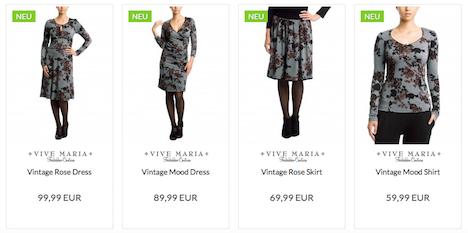 Vive Maria Vintage Rose Serie XMAS 2015 Napo Shop